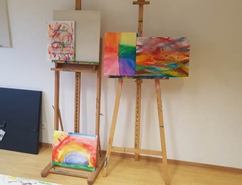 Bunter Start in die Kunst-AG